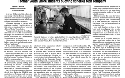Former South Shore students buoying fisheries tech company